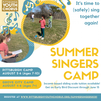 Summer Singers Camp - Pittsburgh