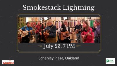 Smokestack Lightning at Schenley Plaza