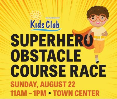 Superhero Obstacle Course Race