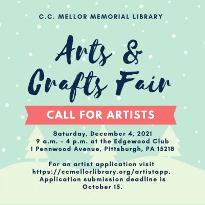 C.C. Mellor Memorial Library Arts & Crafts Fair