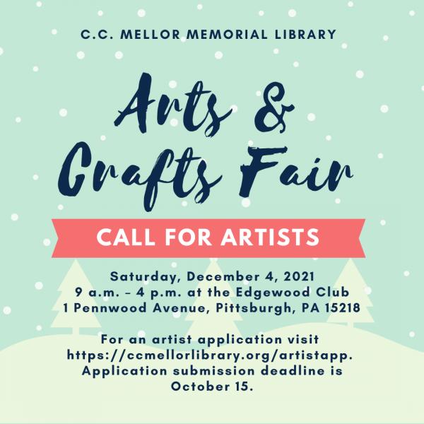 C.C. Mellor Memorial Library Arts & Crafts Fai...