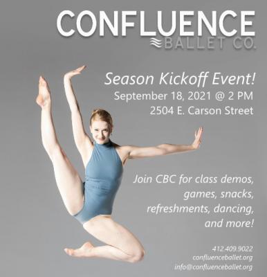 Confluence Ballet Company Season Kickoff Event