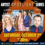 Artist Spotlight Series: An Evening with Lara Hayhurst and Trey Compton