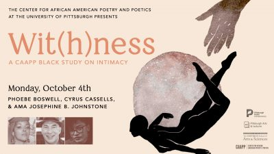 Wit(h)ness: Phoebe Boswell, Cyrus Cassells, & ...