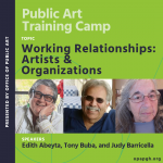 Working Relationships: Artists & Organizations